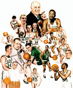 Celtics Hall Of Famers