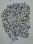 """Scribble Woman Head II."""