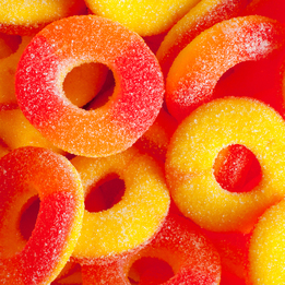 Sour Gummi Peach Rings #3